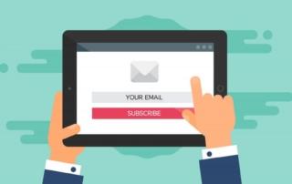 Ανάπτυξη λίστας email: 5 tips για να μετατρέψετε τους επισκέπτες σε συνδρομητές