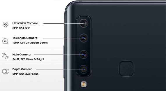 H Samsung παρουσίασε τηλέφωνο που θα έχει 4 κάμερες και θα έχει την μισή τιμή του iPhone XS MAX (pics & vids)