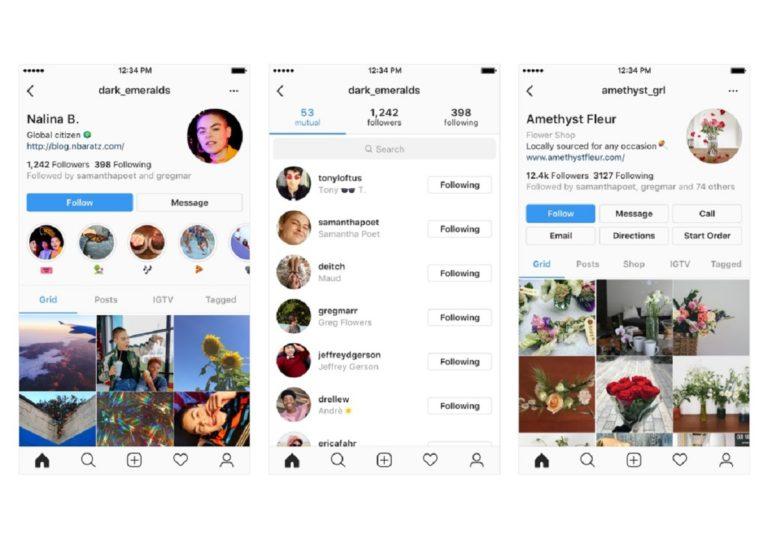 Το Instagram προαναγγέλλει βελτίωση των προφίλ των χρηστών του