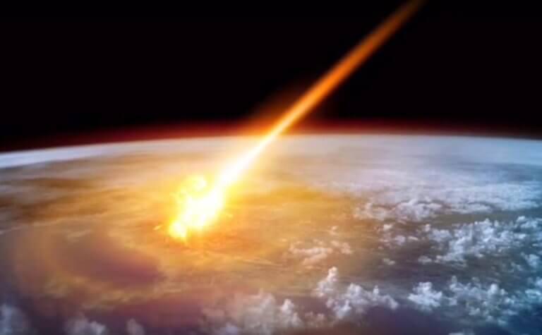 μετεωρίτης σύγκρουση γη