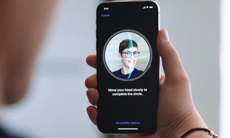 apple καινούρια χρήση αναγνώριση προσώπου