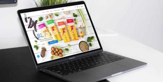 Better Life Foods Eshop development
