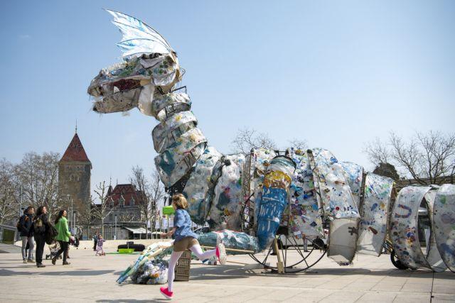 πλαστικά μόλυνση απειλή πλανήτης