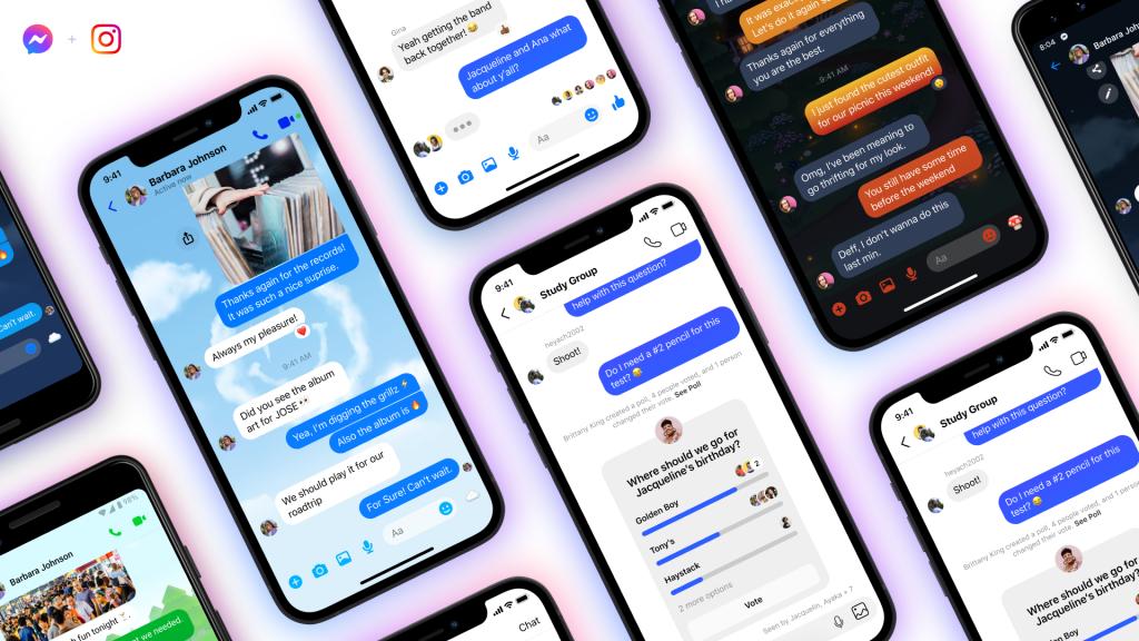Το Facebook επεκτείνει τις συνομιλίες μεταξύ Messenger, Instagram σε ομάδες