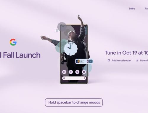 Το launch event του Google Pixel 6 έχει οριστεί για τις 19 Οκτωβρίου